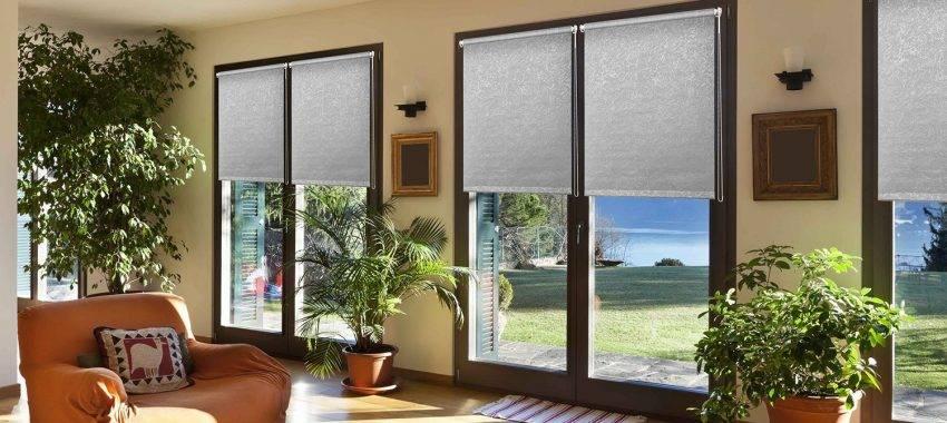 Как выбрать рулонные шторы на пластиковые окна - 5 главных принципов