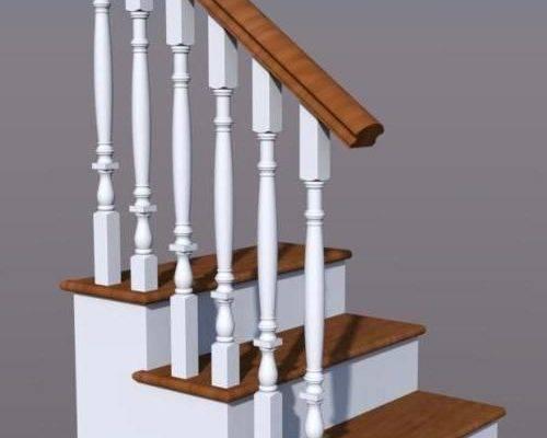 Балясины установка на бетонную лестницу своими руками | ogradim.su
