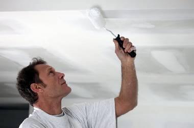 Чем покрасить потолок в квартире: чем красить потолок в комнате, какой краской лучше сделать крашенный потолок, покраска своими руками
