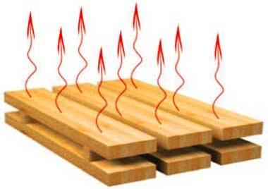 Сушка древесины вывариванием в соли + еще пару действенных методов