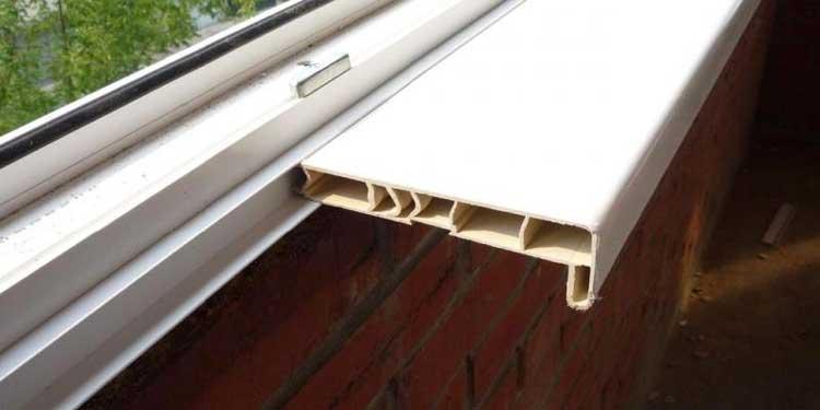 Установка подоконника на балконе и лоджии своими руками