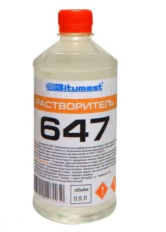 Растворитель 647 (23 фото): состав и технические характеристики по госту 18188-72, применение