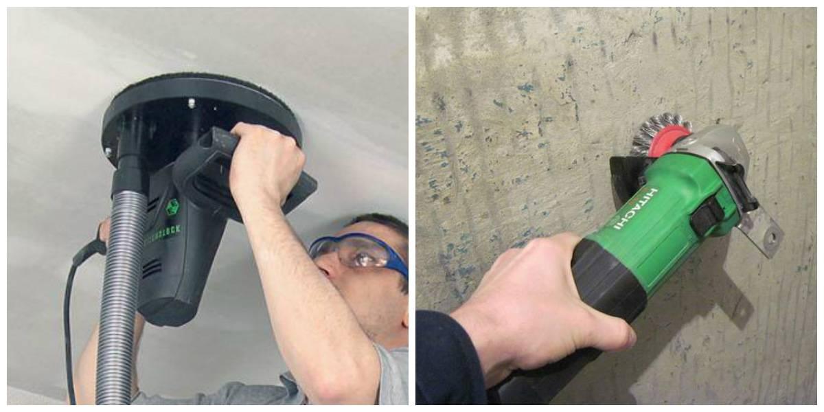 Способы смыва побелки с потолка. как снять старое покрытие своими руками?