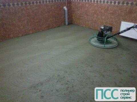 Краска для отделки бетонного пола снаружи и внутри помещения