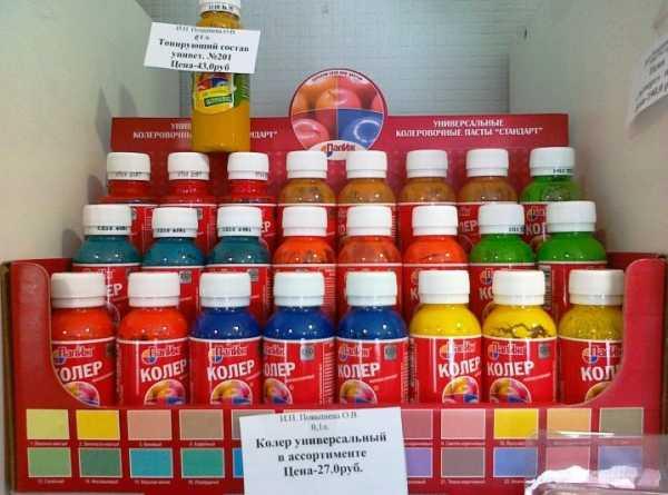 Колер для краски - 105 фото с палитрой всех цветов от топовых производителей