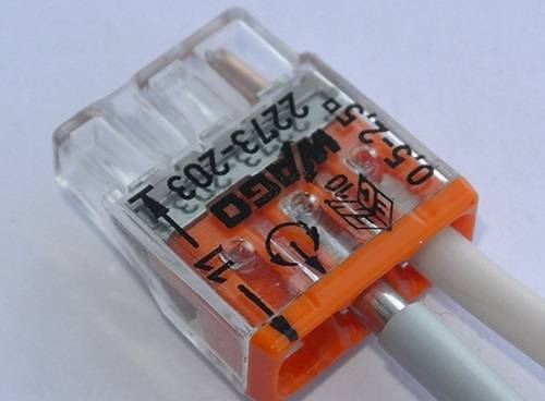 Клеммники для соединения проводов разного сечения - всё о электрике в доме