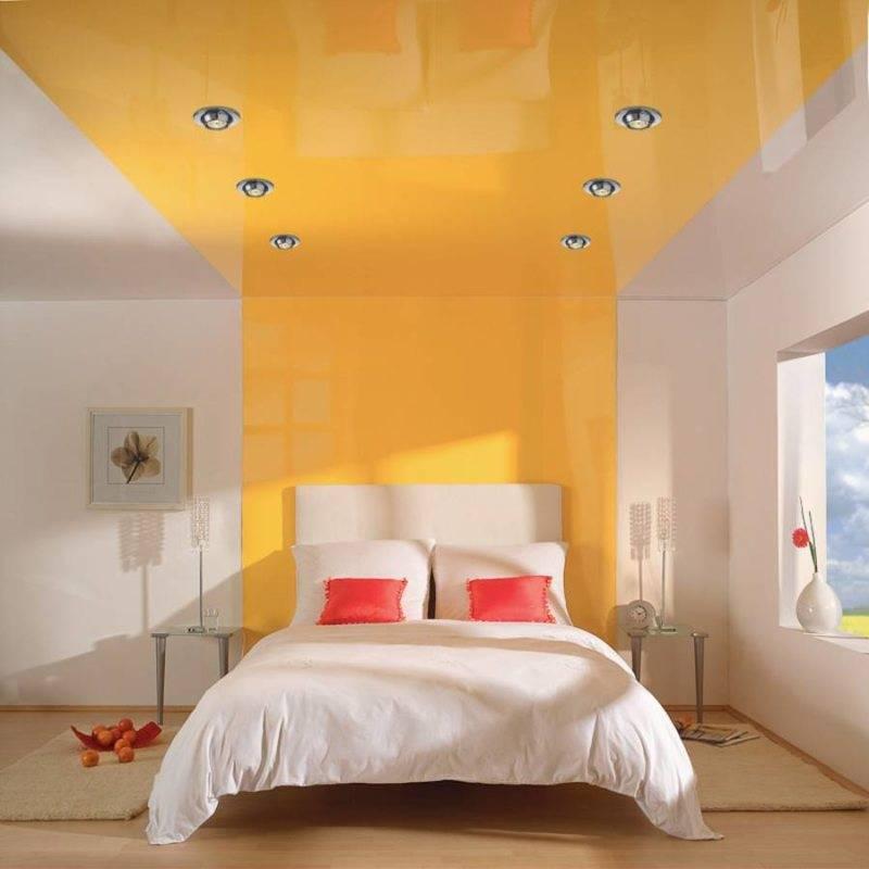 Потолок серого цвета: 80+ фото, идеи оформления натяжного или гипсокартонного