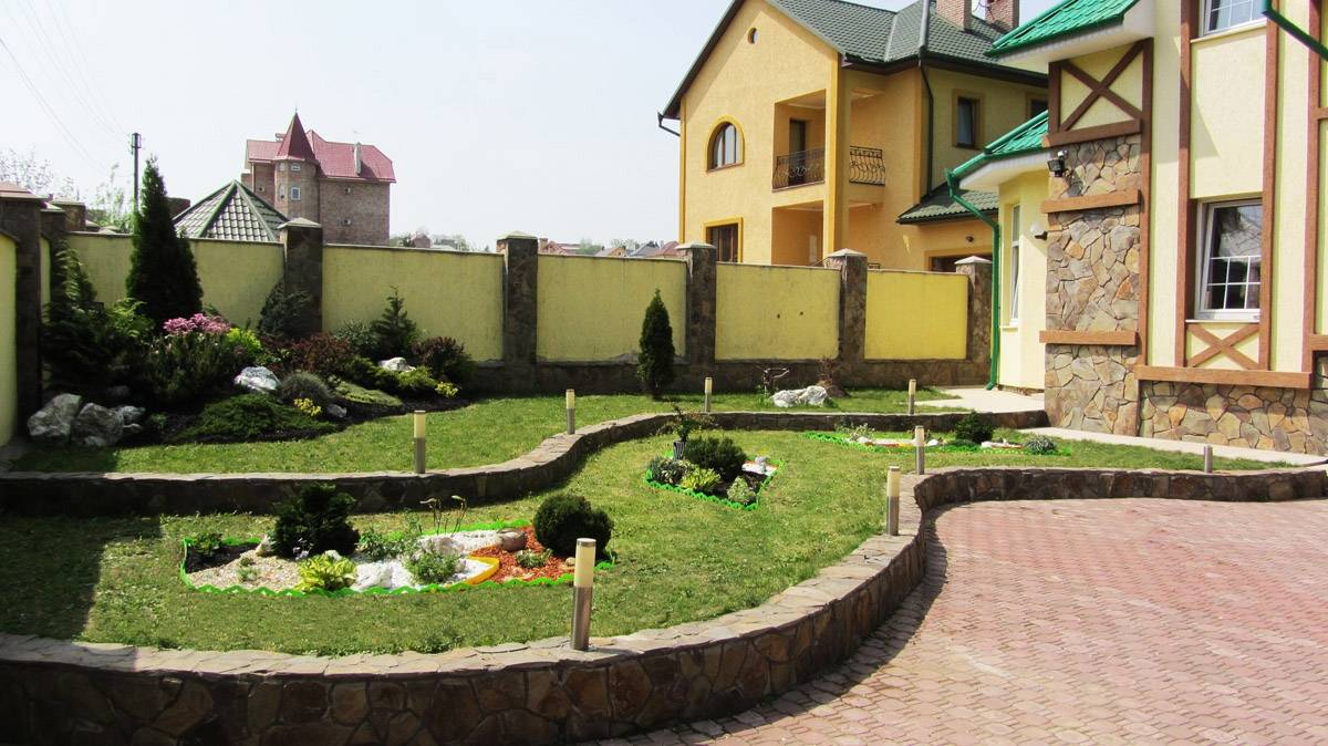 Планировка дома с внутренним двориком. проекты домов с внутренним двориком