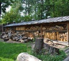 Навес для дров – как выбрать проект и построить своими руками качественный навес