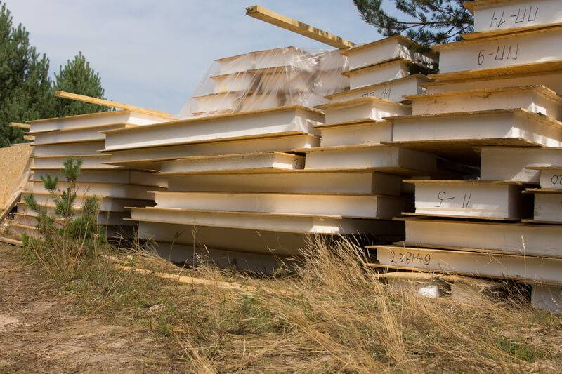 Дом из осб-панелей: летний домик из плит своими руками, проекты дачных домов и пошаговая инструкция строительства