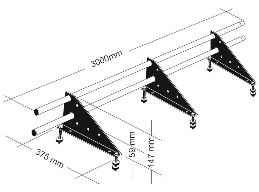 Снегозадержатели на металлочерепицу: выбор и установка