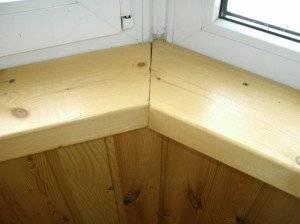 Установка пластикового подоконника: пошаговая инструкция