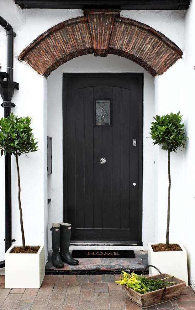 Входные двери в частный дом (120 фото): металлические, деревянные, пластиковые