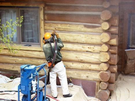 Покраска имитации бруса внутри помещения: как правильно обработать и чем покрасить доски внутри дома