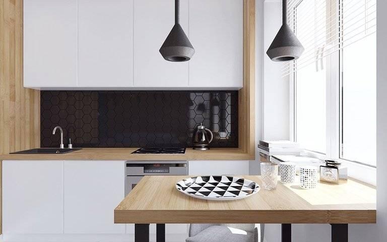 Кухня в стиле минимализм: реальные фото, мебель, цвет, выбор материалов