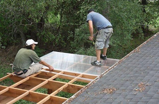 Крыша из поликарбоната для веранды и террасы своими руками? Пошаговая инструкция + Фото и Видео