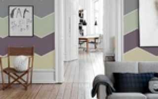 Покраска стен полосами: как сделать разными цветами, почему остаются вертикальные после валика и как исправить, а также смотрите на фото возможные сочетания оттенков