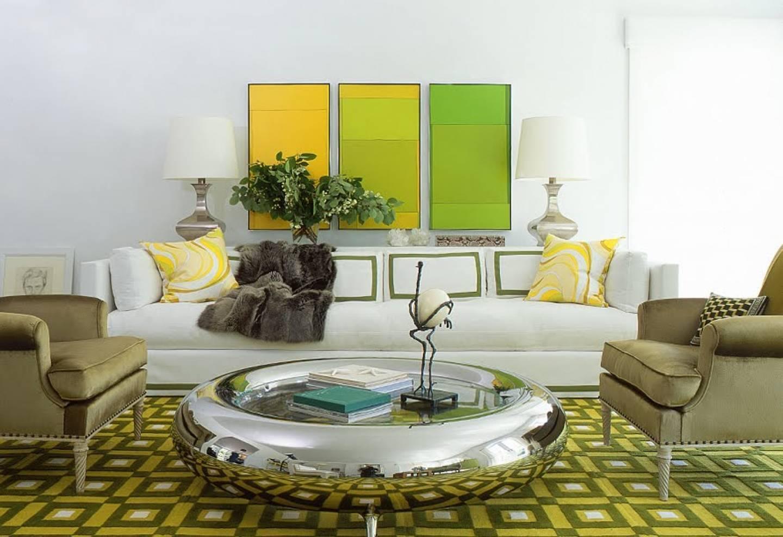 Примеры оформления интерьера в зеленом цвете