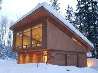 Пошаговая инструкция строительства гаража с мансардой, проект и выбор материалов