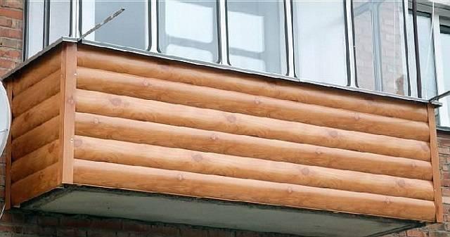 Обшивка балкона сайдингом снаружи | советы специалистов