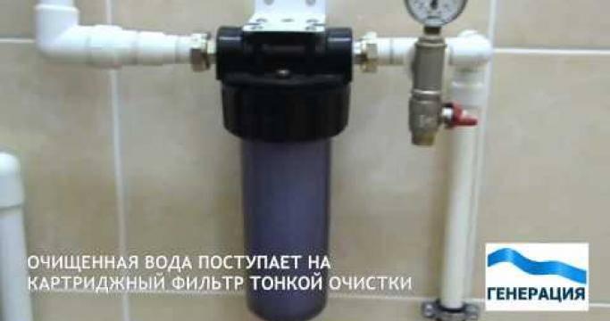 Как очистить воду из скважины от железа своими руками?
