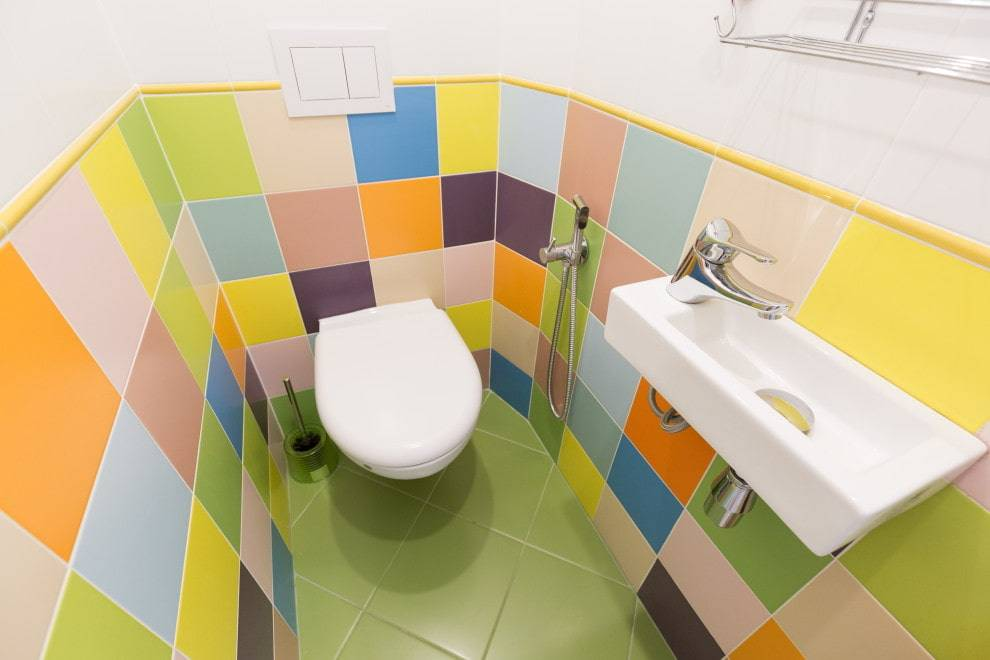 Отделка туалета пластиковыми панелями: варианты дизайна