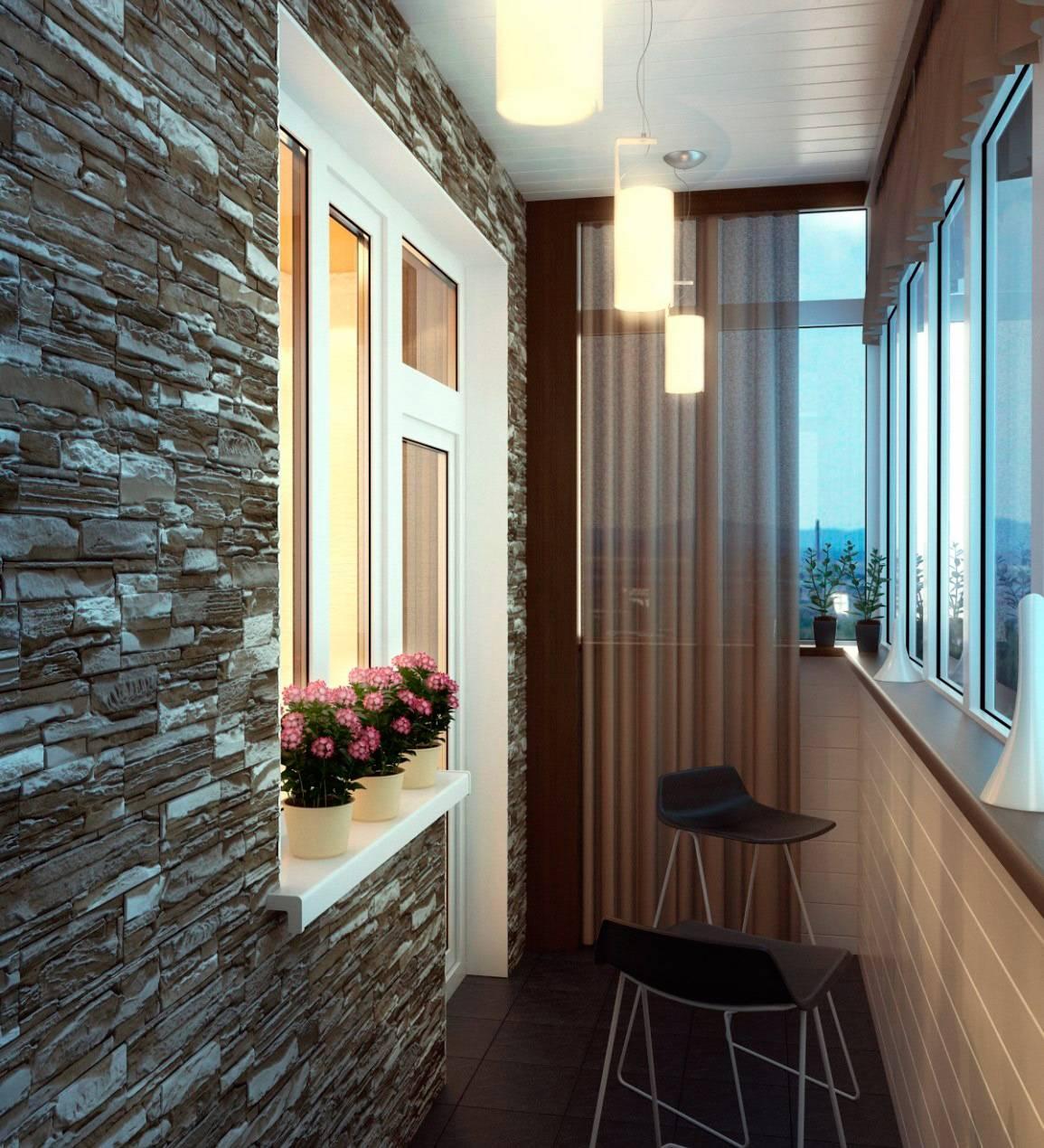 75 вариантов дизайна балкона в фото: идеи, советы, видео