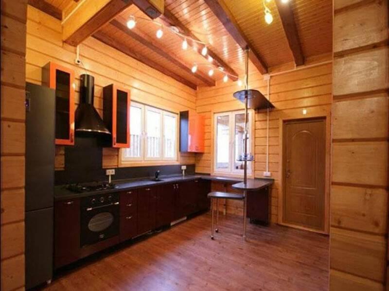 Внутренняя отделка каркасного дома (51 фото): варианты обшивки, чем обшить внутри, тонкости облицовки