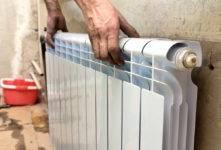 Течь алюминиевого радиатора отопления: как устранить своими руками