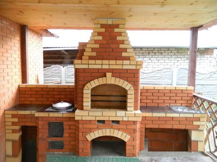 Как сделать садовый камин барбекю из кирпича на даче своими руками: Пошагово - Обзор