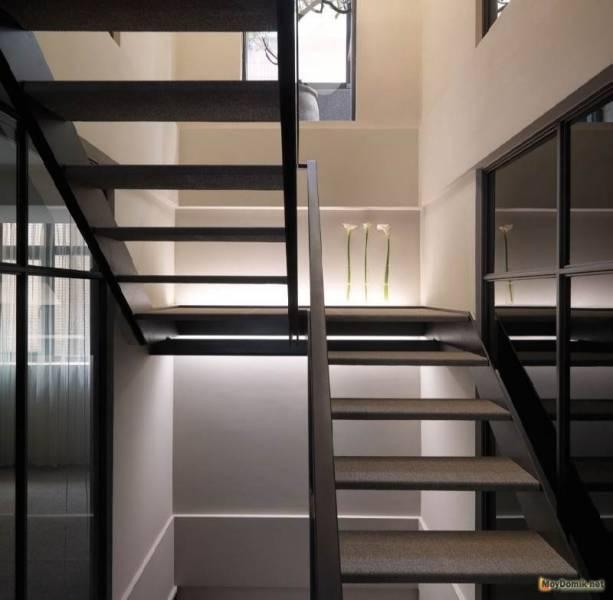 Металлические лестницы своими руками - инструкция и монтаж: фото