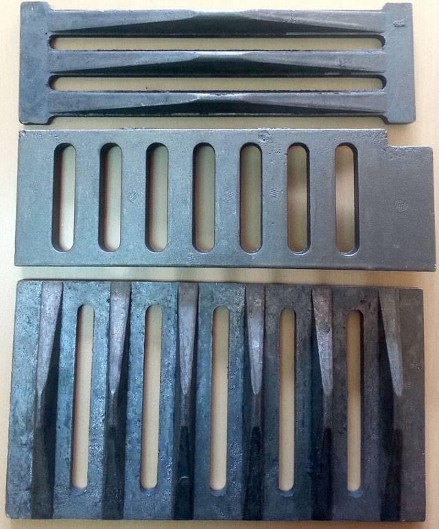Чугунные колосники для печи купить - описание, размеры и сравнительные характеристики