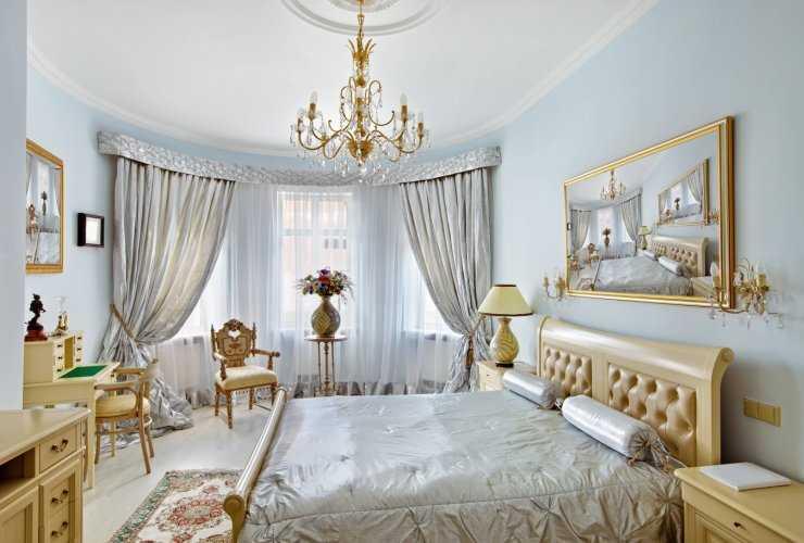 Спальня в стиле барокко – фото роскошных интерьеров!