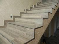 Ступени из ковролина: отделка лестницы, описание стыковки, накладки