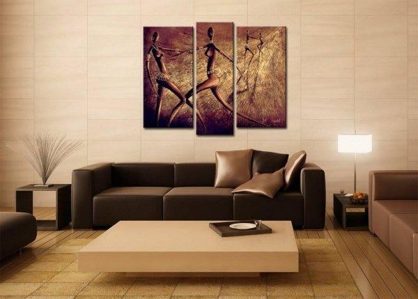 Декор гостиной: оригинальные идеи преображения интерьера. способы декорирования стен гостиной: настенные росписи, фотографии, рисунки и картины, панно, постеры, керамическая плитка. чем украсить стену за диваном