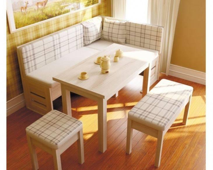 Раскладной кухонный уголок со спальным местом: как не ошибиться с выбором (40 фото)