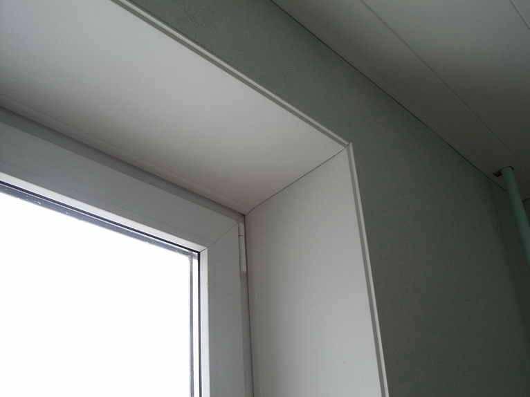 Установка откосов и подоконников на пластиковые окна: инструкция