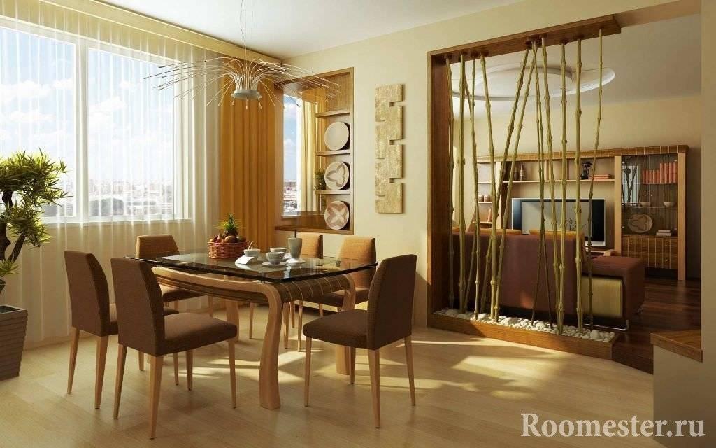 Применение бамбука в созданииинтерьера дома