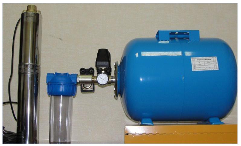 Принцип работы гидроаккумулятора в системе водоснабжения - всё о сантехнике