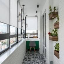 Выбор штор для современного оформления балкона