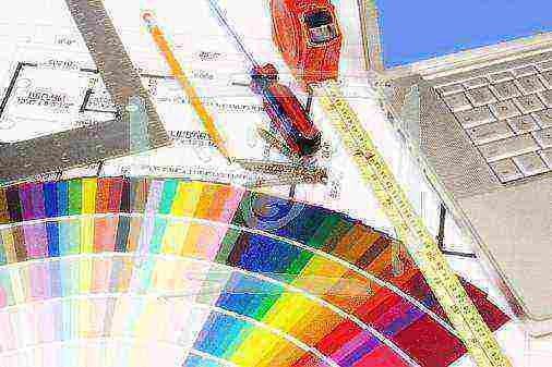 Фасадная краска по штукатурке для наружных работ - какую лучше выбрать?