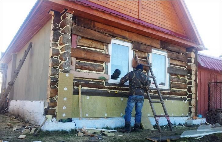 Утепление деревянного дома снаружи - пошаговая методика утепления!