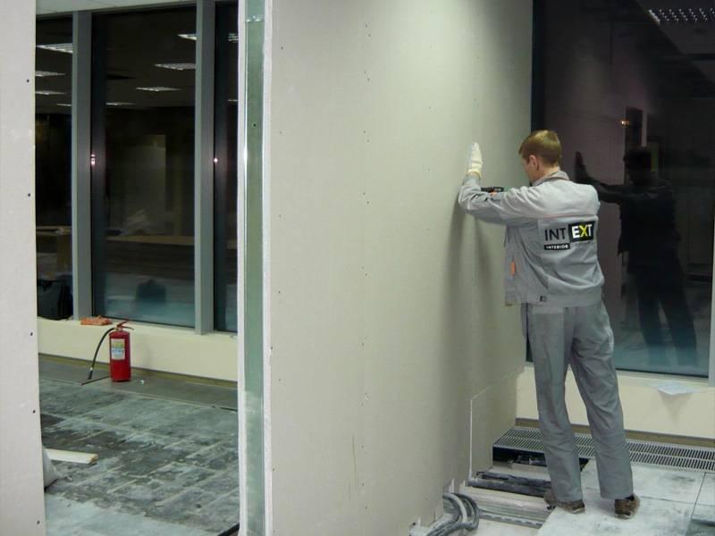 Отделка стен гипсокартоном без каркаса и профиля своими руками: пошаговая инструкция