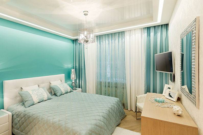 Натяжные потолки в спальне: 60 современных вариантов, фото в интерьере
