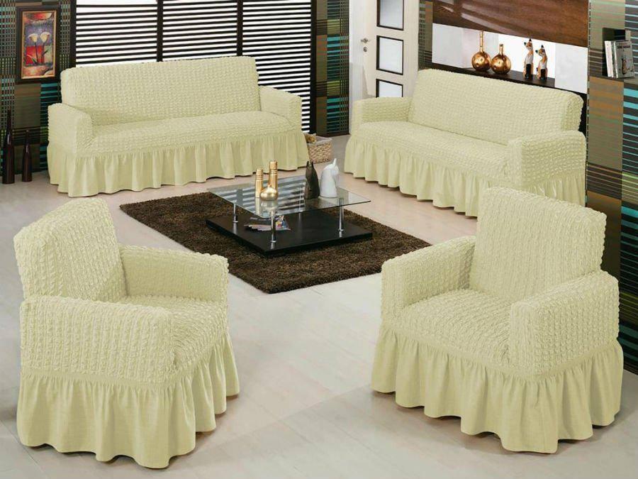 Ткань для чехлов на диван: виды материалов для изготовления, какая ткань лучше, как ее подобрать