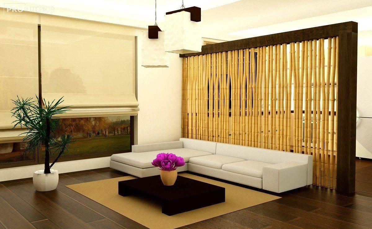 Обои из бамбука в интерьере кухни: подберите лучшее решение (+15 фото)!