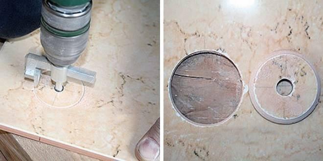 Как сверлить плитку без сколов: различные способы и инструменты