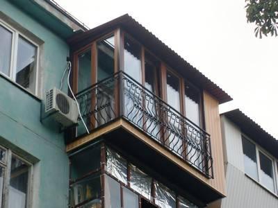 Французский балкон на современный лад: 40 фото-примеров