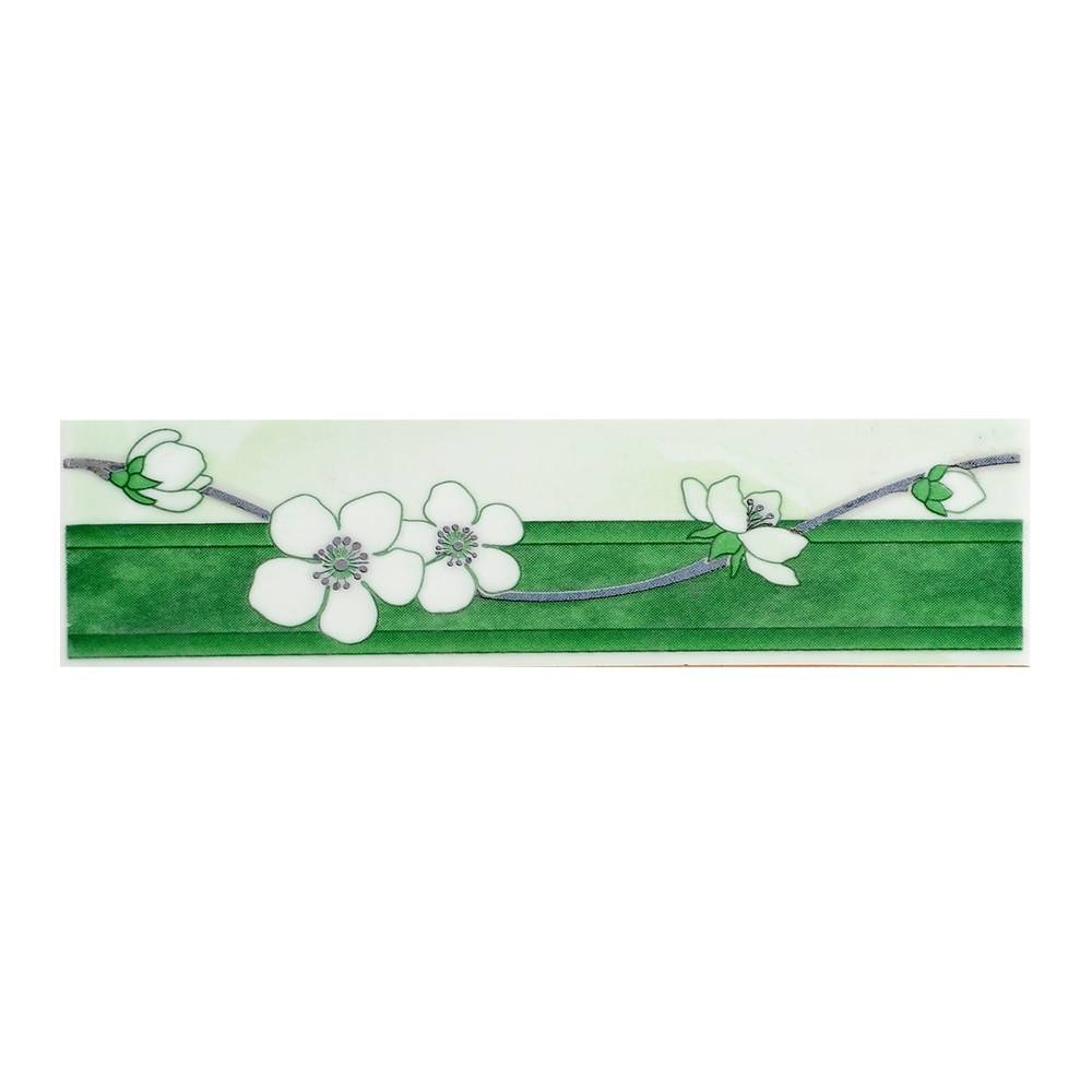 Керамический бордюр для ванной - угловой, фриз и карандаш, укладка и установка, цена