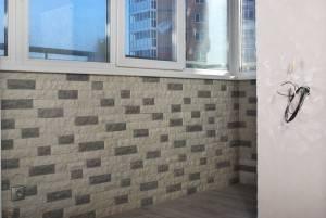 Краткий экскурс по отделке балкона декоративным камнем